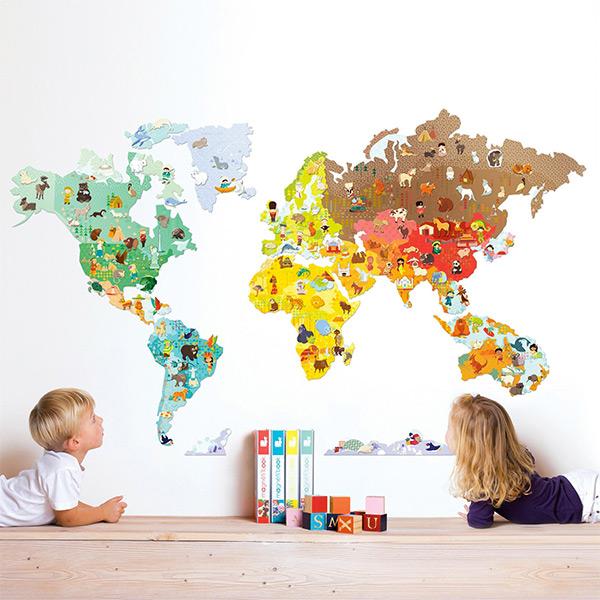 Vinilos y adhesivos para decorar habitaciones infantiles for Adhesivos pared infantil