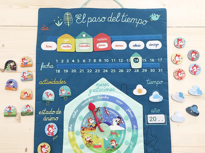 ¿Qué día es hoy? Aprendemos con el calendario de Lilliputiens