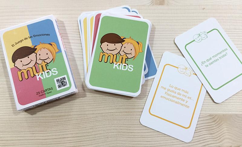 Juego cartas emociones MutKids