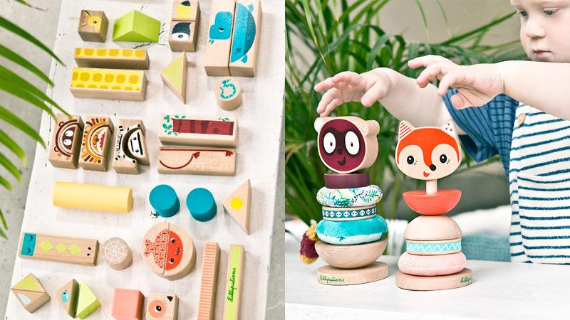 juguetes madera Lilliputiens
