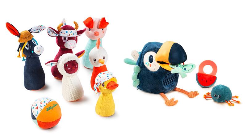 juguetes sensoriales Lilliputiens