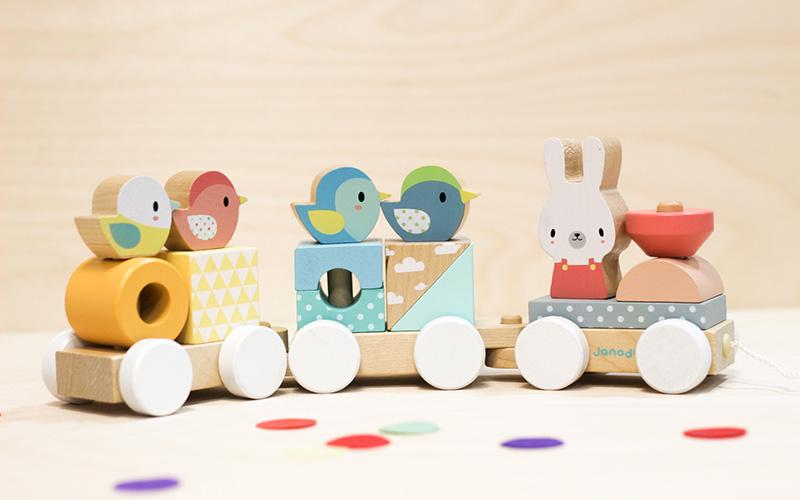 Tren de madera Pure