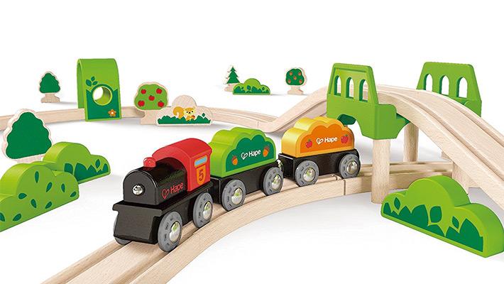 Y Trenes Infantiles Madera Circuitos De tsdxrCBhQo