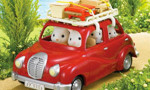 Coches y Transportes Sylvanian Families