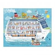 2 Puzzles Barco Crucero: 100 y 200 piezas