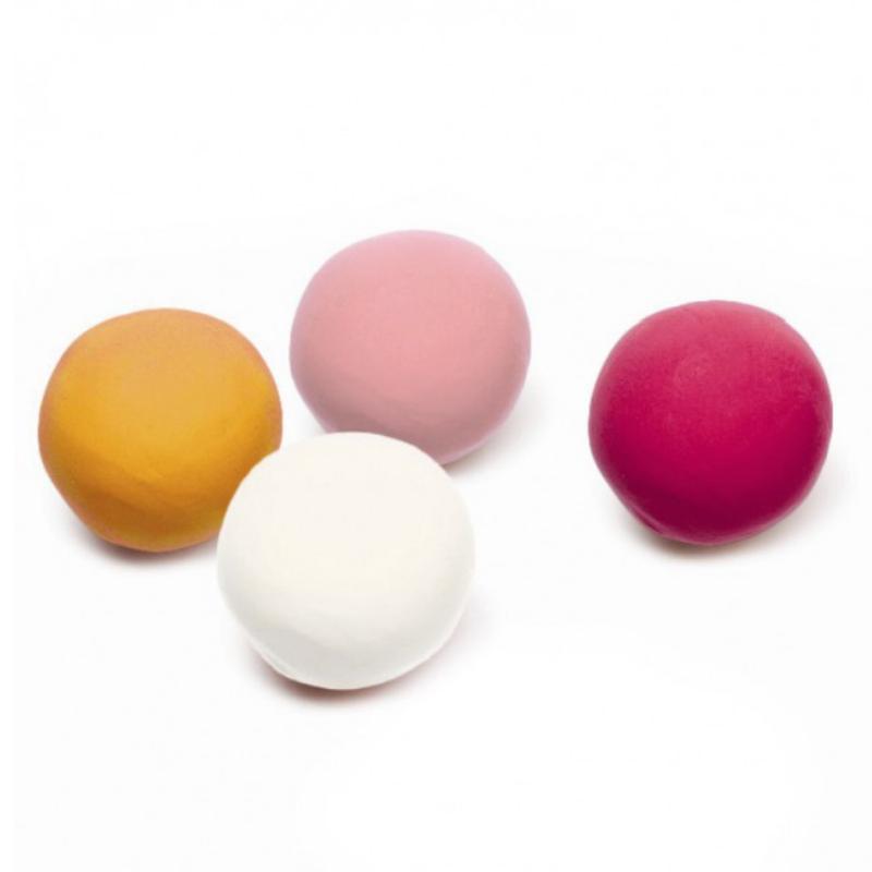 4 Botes de Plastilina Colores Sweet