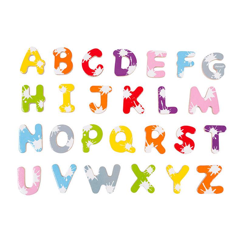 52 Letras Magnéticas Splash