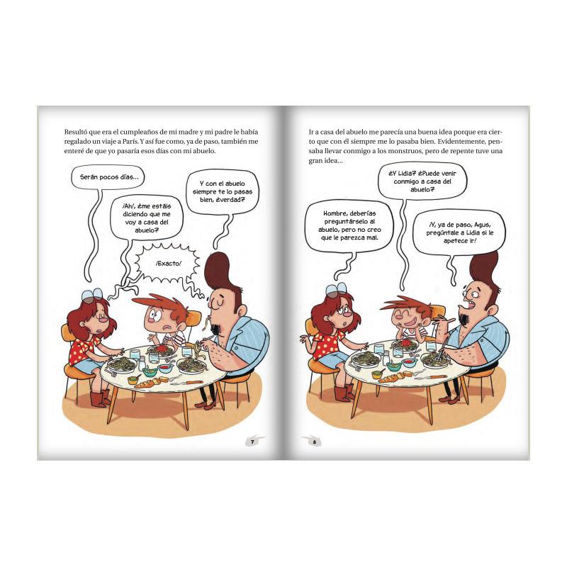 Agus y los Monstruos 12: El Tesoro Perdido