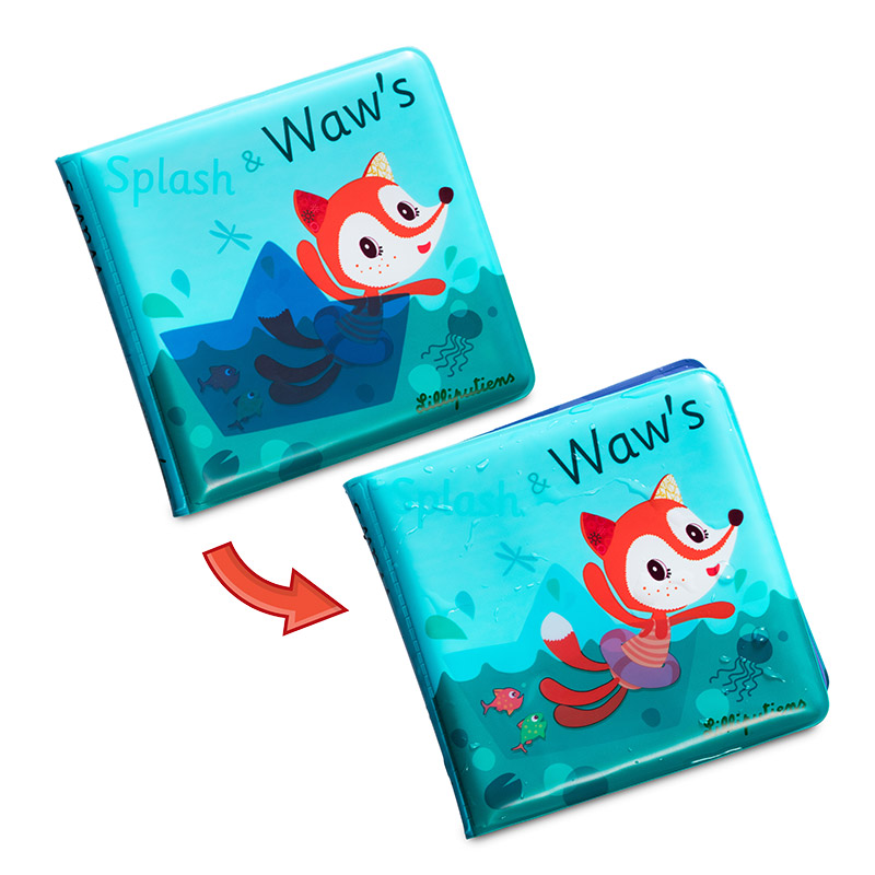 Alice Splash: Libro Mágico para el Baño