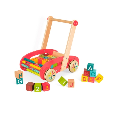 Andador con Cubos ABC Buggy Tatoo