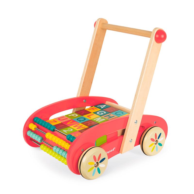 Andador con Cubos ABC Buggy Tatoo