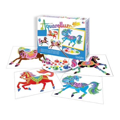Aquarellum Junior Caballos