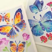 Aquarellum Junior Mariposas y Flores
