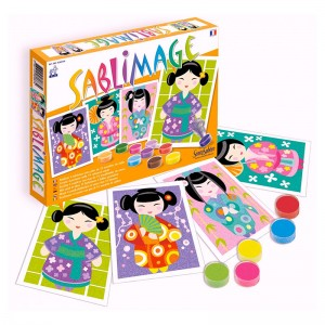 Arena de Colores Sablimage Kokeshi