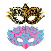 Arte Scratch Máscaras de Fiesta