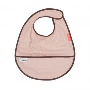 Babero con Velcro: Contour Rosa