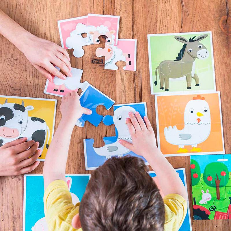 Baby Puzzle: La Granja