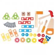 Banco Carpintero con herramientas