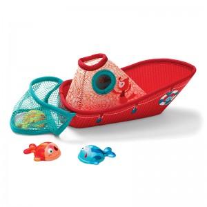 Barco de Pesca con Peces