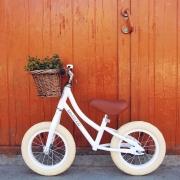 Bicicleta First Go: Blanca