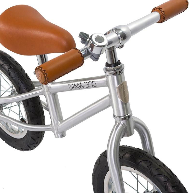 Bicicleta First Go: Chrome