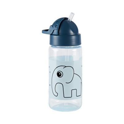 Botella con Pajita: Elphee Azul