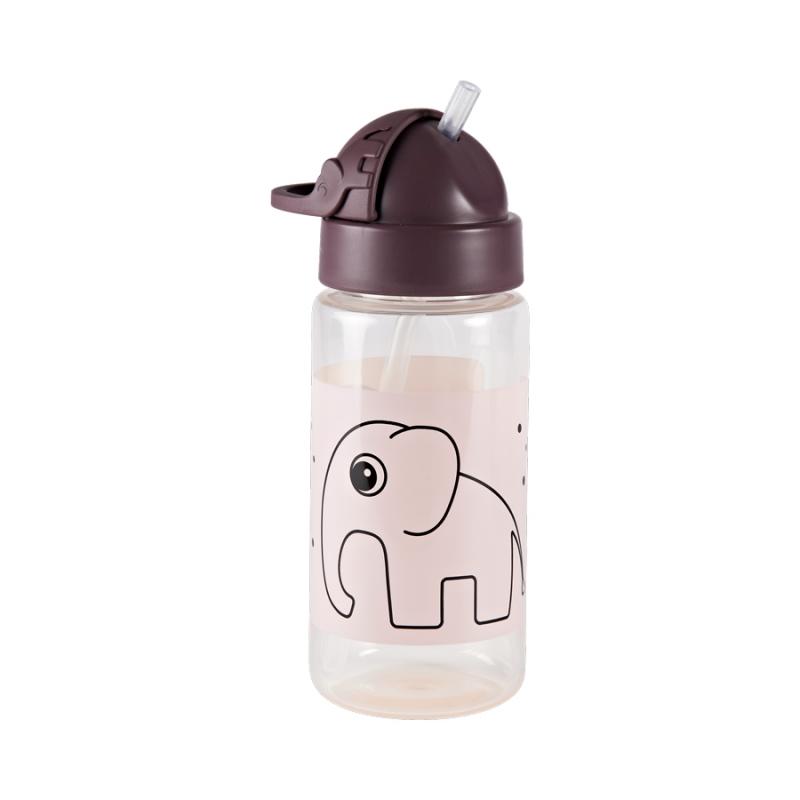 Botella con Pajita: Elphee Rosa