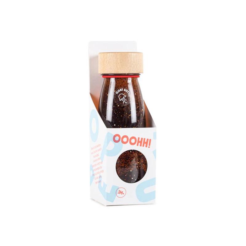 Botella Sensorial Flotante Marrón