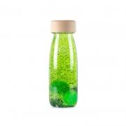 Botella Sensorial Flotante Verde