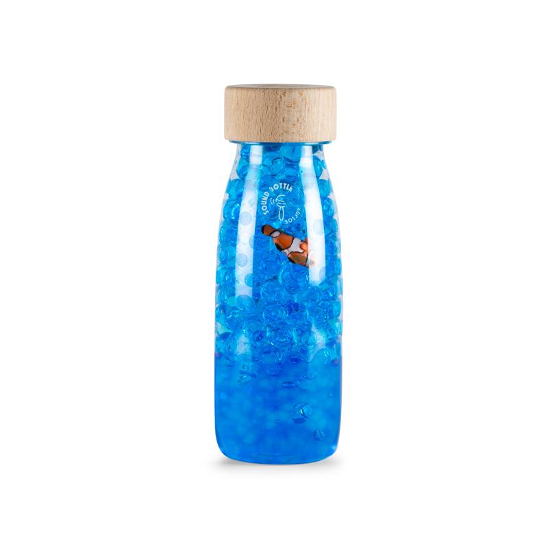Botella Sensorial Sonidos Pez