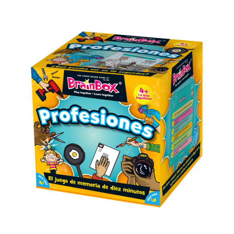 BrainBox: Profesiones