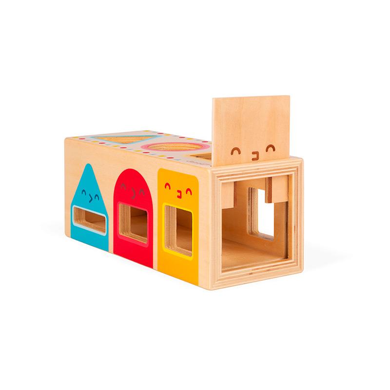 Caja con Formas Geométricas