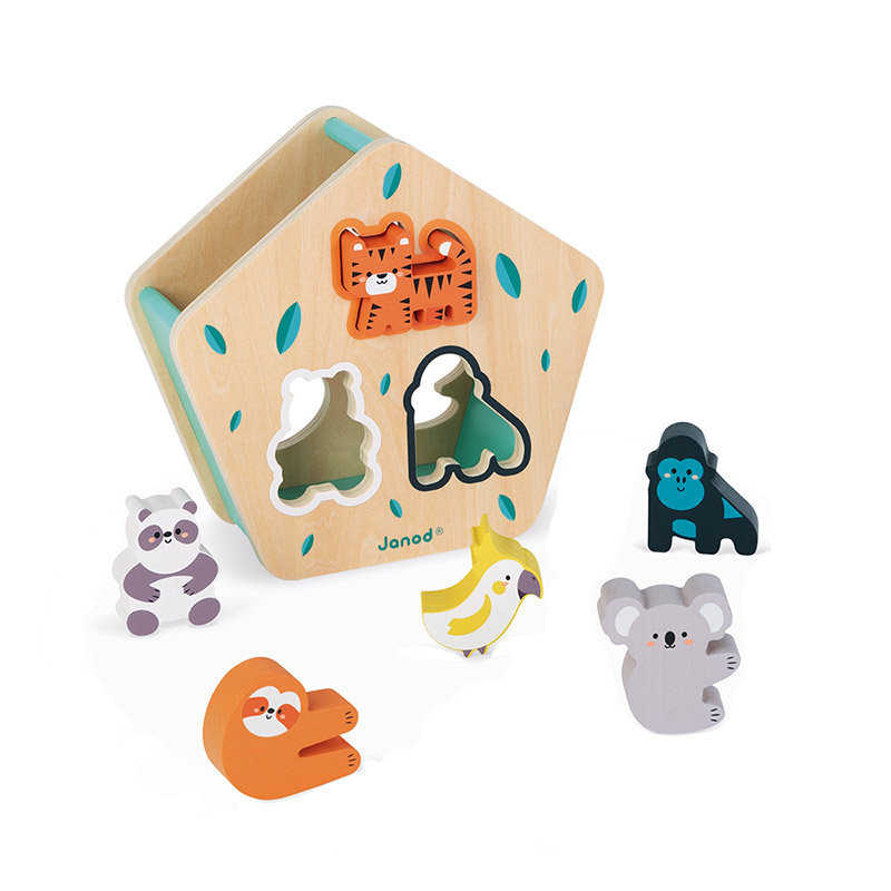 Caja de Formas de Animales Colección WWF®
