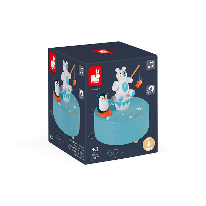 Caja Musical Magnética Polar