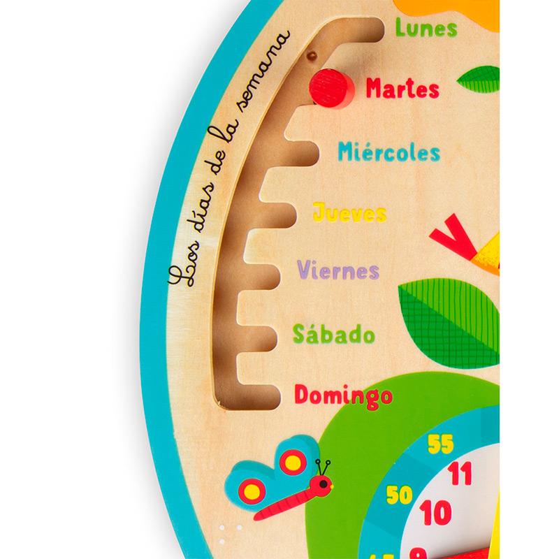 Calendario de madera: A lo largo del tiempo