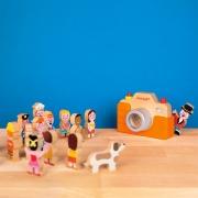 Cámara de Fotos con Luz y Sonido