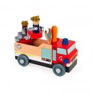 Camión de Bomberos Brico Kids
