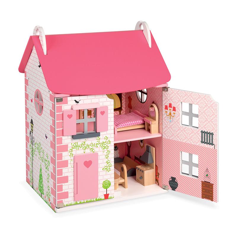 Casa de Muñecas Mademoiselle de Janod en MiniKidz