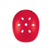 Casco Junior con Luces Rojo