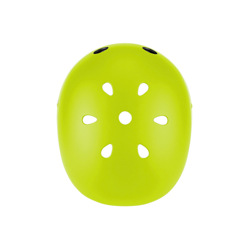Casco Junior con Luces Verde