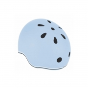 Casco Pequeño con Luces Azul Pastel