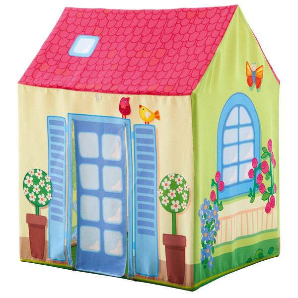 Casita de tela infantil lilli de haba en minikidz for Casita de plastico para jardin