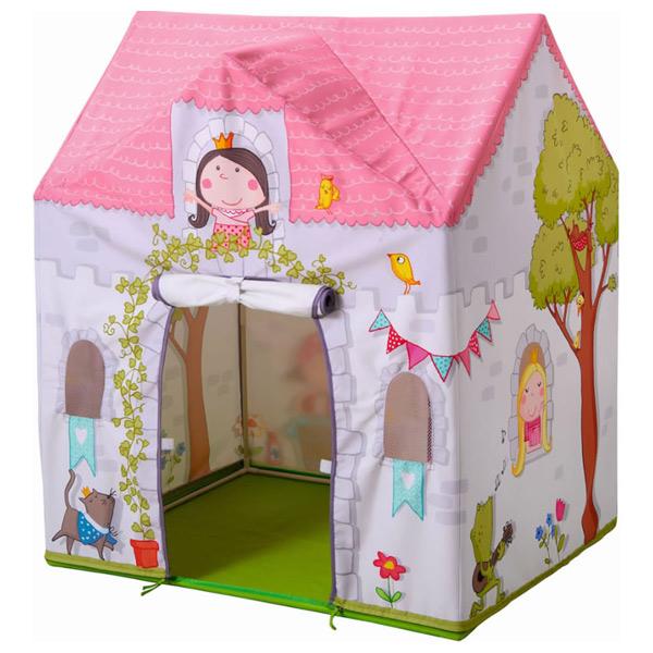Casita de tela princesa rosalina de haba en minikidz - Casitas de tela para ninos imaginarium ...