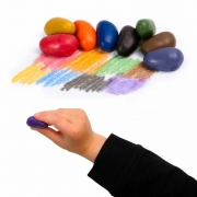Ceras Crayon Rocks con 8 Plantillas Rubeez