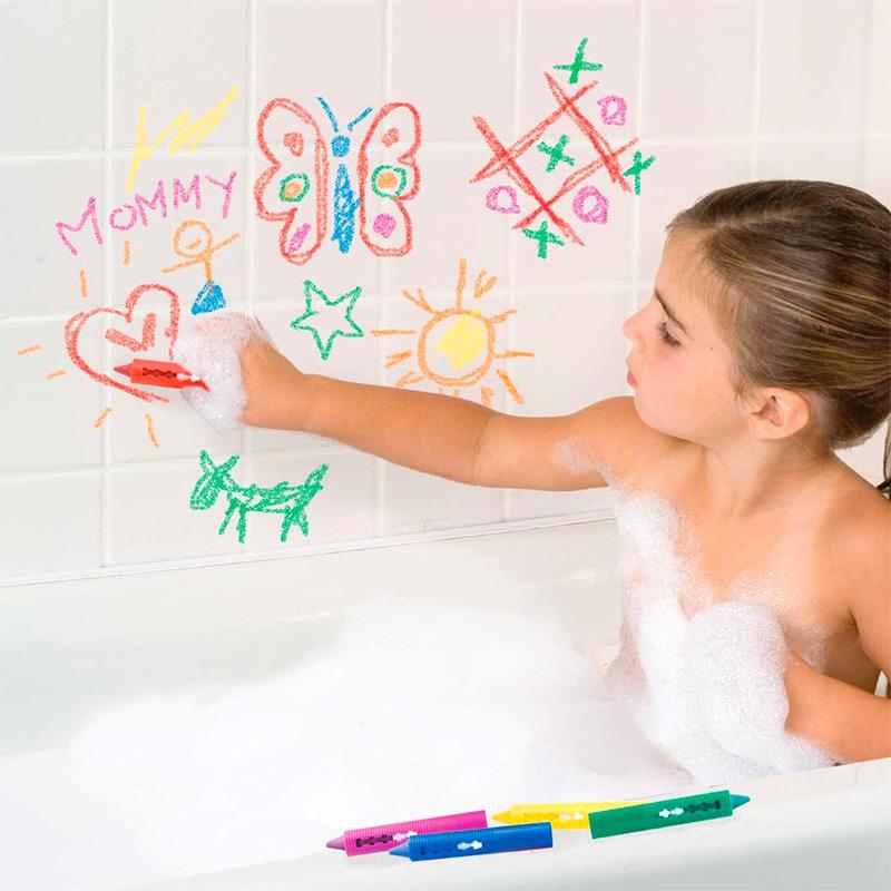 Ceras para Pintar en la Bañera