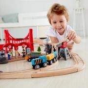 Circuito de Tren: Ciudad Ajetreada