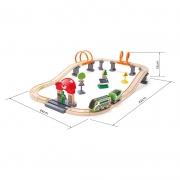 Circuito de Tren: Energía Solar