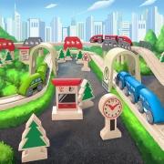 Circuito de Tren: Puentes y Túneles