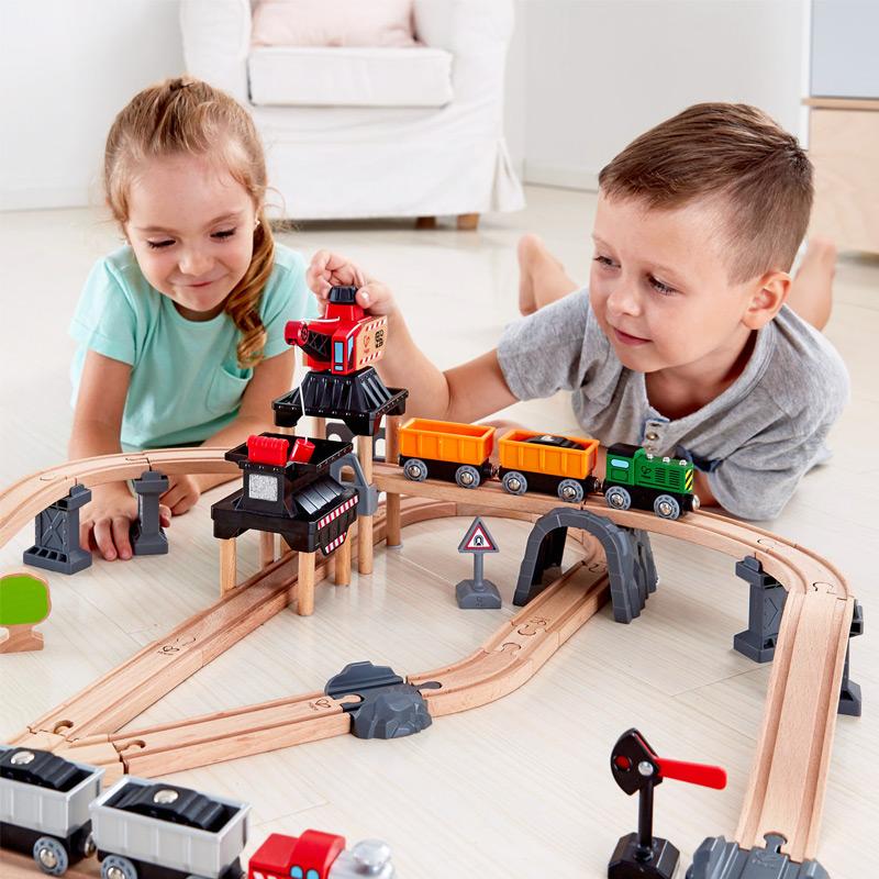 Circuito de Tren: Set de Carga Minera