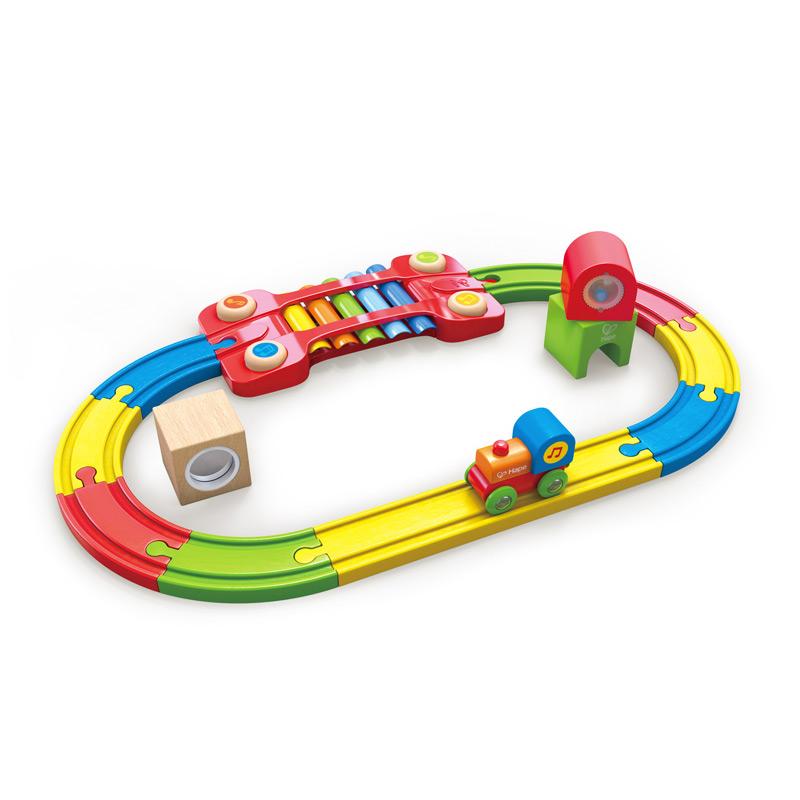 Circuito Infantil: Pista de Tren Sensorial